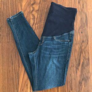 H&M Mama Super Skinny High Rib Maternity Jeans